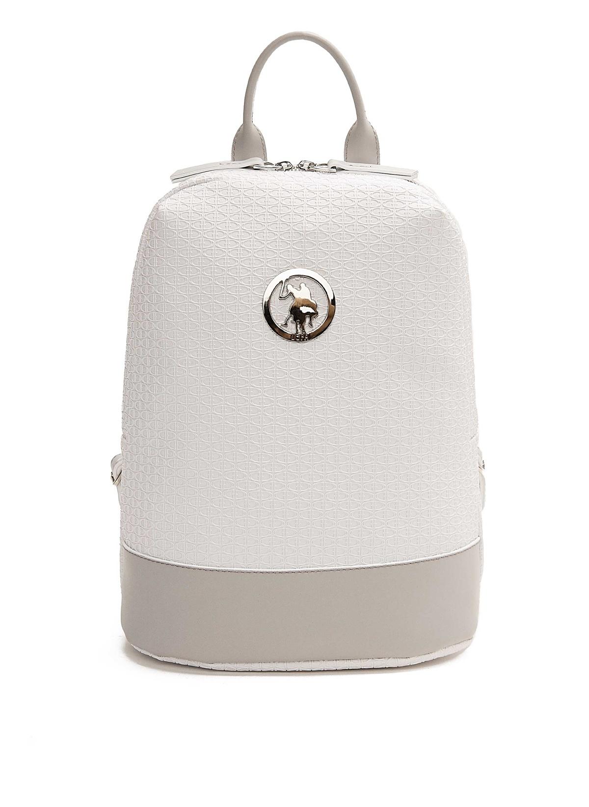 0e76eee033b23 U.S. Polo Assn. Kadın Sırt Çantası Beyaz | Morhipo | 23101575